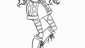 Monster High Coloring Pages Robecca Steam Monster High Robecca Coloring Pages