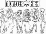 Monster High Printable Coloring Pages Coloring Monster High Printable Coloring Pages Image Cartoon