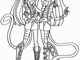 Monster High Printable Coloring Pages Monster High Coloring Page Radiovkm
