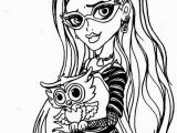 Monster High Printable Coloring Pages Monster High Coloring Pages 21