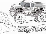 Monster Jam Coloring Pages Printables Truck Coloring Pages for Preschoolers 36 New Monster Trucks