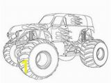 Monster Truck Coloring Pages Printable 10 Wonderful Monster Truck Coloring Pages for toddlers