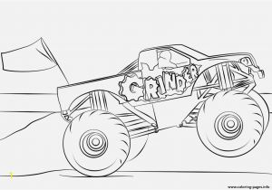 Monster Truck Coloring Pages Printable Spannende Coloring Bilder Monster Truck Coloring Pages