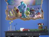 Monsters Inc Wall Mural Monsters Inc All Monsters Hd Wallpaper