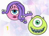 Monsters Inc Wall Mural Monsters Inc Vinyl