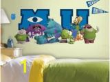 Monsters University Wall Mural 138 Best Ajs Room Images