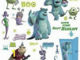 Monsters University Wall Mural Details About Disney Monsters Inc 31 Big Wall Decals Mike Sulley Boo Celia Room Decor Stickers
