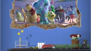 Monsters University Wall Mural Monsters Inc All Monsters Hd Wallpaper