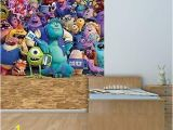 Monsters University Wall Mural Walltastic Disney Monsters University Art Decal Wallpaper Murals Nursery Fice Home Decoration 204 X 243 Cm