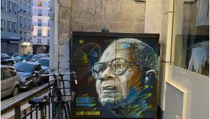 Montmartre Paris Wall Mural Fresque Aime Cesaire Paris Aktuelle 2019 Lohnt Es Sich