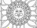 Moon and Stars Coloring Pages 161 Best Sun Moon and Stars Coloring Images On Pinterest