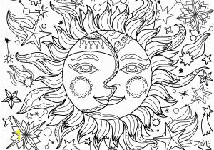 Moon and Stars Coloring Pages Printable Pin by Muse Printables On Adult Coloring Pages at Coloringgarden