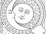 Moon and Stars Coloring Pages Wel E to Dover Publications Sun Moon and Stars Designs to Color