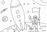 Moon Coloring Pages for Preschoolers Space Pictures for Kids to Color