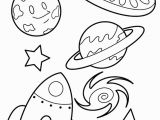 Moon Coloring Pages for Preschoolers Space Rocket Planets Coloring Page for Kids Página Para