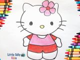 Moriah Elizabeth Coloring Pages How to Draw & Color Hello Kitty Very Easy Drawing for Kids