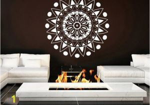 Moroccan Wall Murals Mural Mandala ornament Indian Geometric Moroccan Pattern Yoga