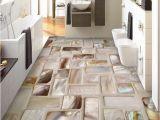 Mosaic Tile Murals Bathroom Custom Wallpaper 3d Tiles Mosaic Floor Art Mural Pvc