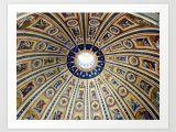 Mosaic Tile Wall Murals Intricate Mosaic Tile Art Print