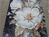 Mosaic Tile Wall Murals Mosaic Tile Mural Flowers Google Search