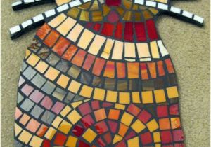 Mosaic Tile Wall Murals Sassy Red Whiskered Cat Mosaic Tile Stained Glass Wall