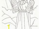 Moses 10 Commandments Coloring Page 58 Best Moses Ten Mandments Images On Pinterest