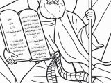 Moses 10 Commandments Coloring Page Free Coloring Page Moses 10 Mandments A K Bfo