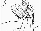 Moses 10 Commandments Coloring Page Moses Ten Mandments Coloring Pages New 10 Mandments Coloring10