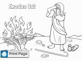 Moses & the Burning Bush Coloring Pages Free Moses and the Burning Bush Coloring Pages – Connectus