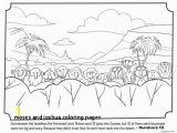 Moses and Jethro Coloring Page 27 Moses and Joshua Coloring Pages