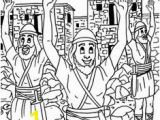 Moses and Joshua Coloring Pages 98 Best Bible Class Moses Joshua Images