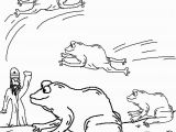 Moses and the 10 Plagues Coloring Pages 10 Plagues