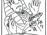 Moses and the 10 Plagues Coloring Pages Moses Plagues Coloring Pages at Getcolorings