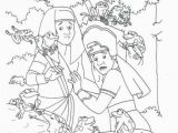 Moses and the 10 Plagues Coloring Pages Qtbee87t5 736×863