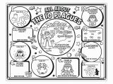 Moses and the 10 Plagues Coloring Pages the Story Of Moses for Kids
