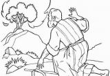 Moses and the Burning Bush Coloring Page the Incredible Moses Burning Bush Coloring Page to