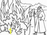 Moses and the Burning Bush Coloring Pages 479 Best Kids Moses Images On Pinterest In 2018