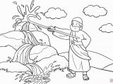 Moses and the Burning Bush Coloring Pages Moses Burning Bush Coloring Page Inspirational Moses Burning Bush