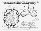 Moses and the Burning Bush Coloring Pages School Coloring Pages for 3 5 Years Captivating 27 Moses and the
