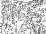 Moses and the Tabernacle Coloring Page Building Coloring Pages Tabernacle 2020 Check More at