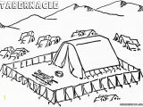 Moses and the Tabernacle Coloring Page Tabernacle Coloring Pages