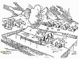 Moses and the Tabernacle Coloring Page Tabernacle Drawing at Getdrawings