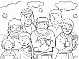 Moses In the Desert Coloring Pages Moses Coloring Pages