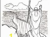 Moses In the Desert Coloring Pages Moses Printable Coloring Pages Sunday School Pinterest