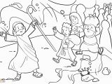 Moses Parting the Red Sea Coloring Page Moses Parting Sea Coloring Pages Coloring Home