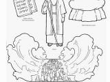 Moses Parting the Red Sea Coloring Page Moses Parting the Red Sea Coloring Page Coloring Pages