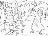 Moses Parting the Red Sea Coloring Page Printable Coloring Pages Moses Parting the Red Sea