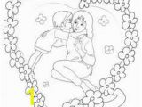 Mother S Day Hearts Coloring Pages Anneler Günü Okul