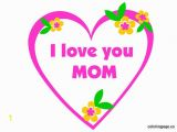Mother S Day Hearts Coloring Pages Mother S Day I Love You Mom Mothers Day Ideas Pinterest