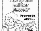 Mothers Day Coloring Page for Sunday School Free Mother S Day Bible Coloring Pages